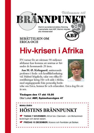Hiv-krisen i Afrika