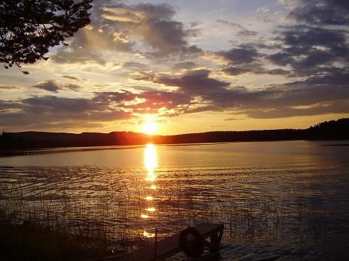 Solnedg�ng i Arvidstr�sk
