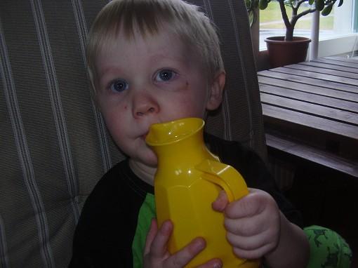 Mitt bonusbarnbarn Hugo
