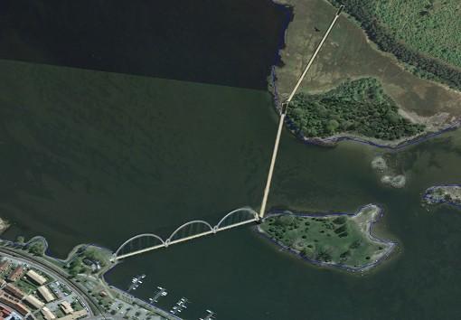 Bro över Sölvesborgsviken