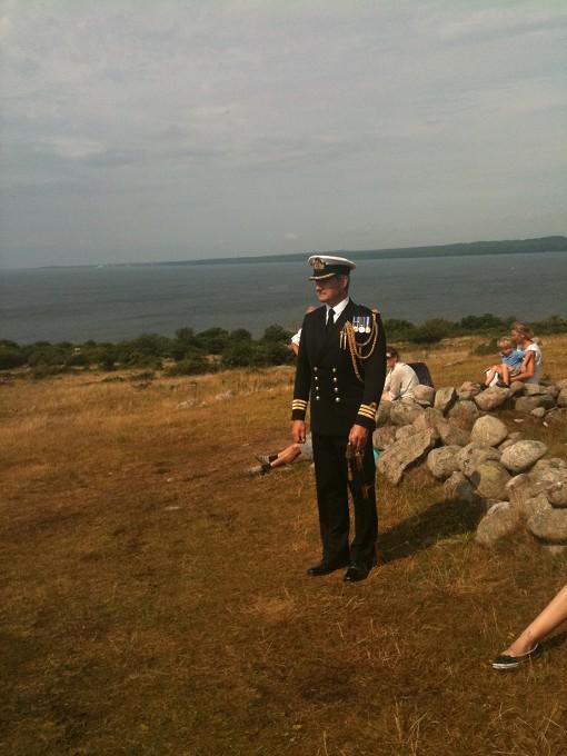 Fint besök från Engelska flottan