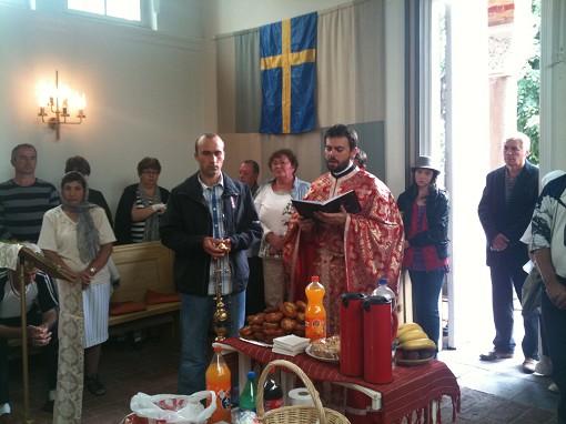 Rumänsk Ortodox högmässa