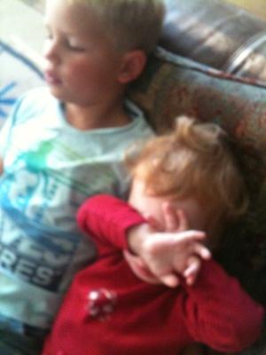 Trötta barn