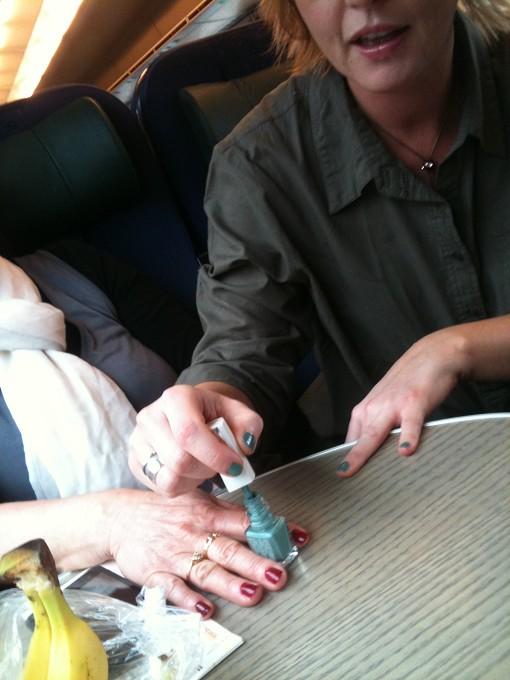 Sysselsättning på tåg