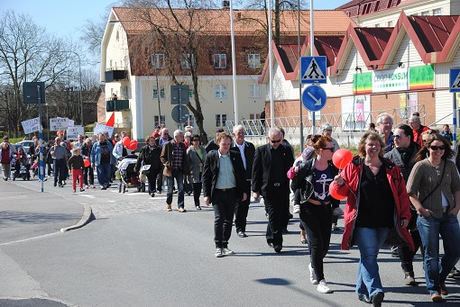 Demonstrationstg i Slvesborg