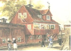 Bellmanhuset, Gr�na Lund