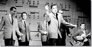 Elvis Ed Sullivan 1957
