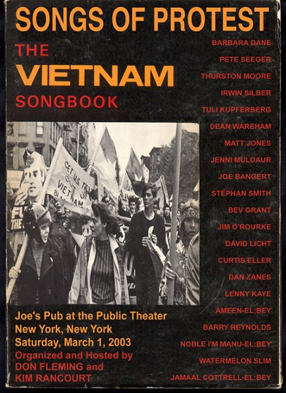 war protest and modern music Protest music, typified by joan baez and bob dylan, contributed to the gulf between young and old cultural and political protest had become inextricably intertwined within the movement's vanguard the new leaders became increasingly strident, greeting returning soldiers with jeers and taunts, spitting on troops in airports and on public streets.