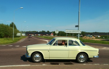 Volvo amazon 1966 �rs modell.
