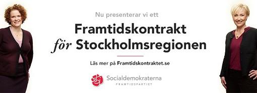 Framtidskontraktet f�r Stockholmsregionen 2014
