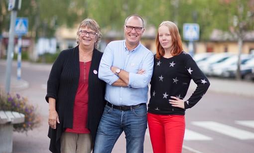 Liv Lunde Andersson, Krister Ellstr�m, Maria Qvarnstr�m