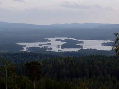 Del av N�rsen sedd fr�n Fagerberget, N�s Finnmark
